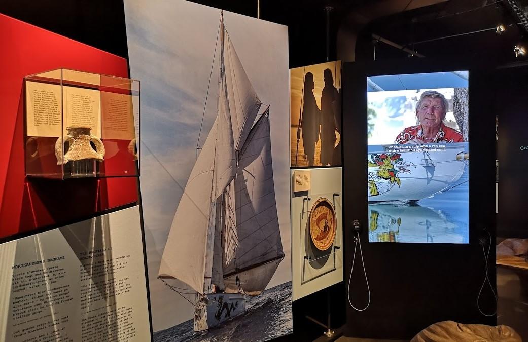 Sådan ser der blandt andet ud på udstillingen 'Frihedens værksted'. Foto: Troels Lykke