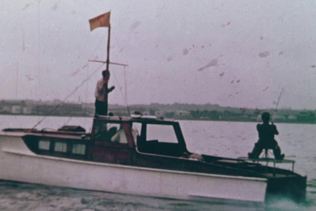 Der var mulighed for at fange store tun på Øresund i 50'erne.
