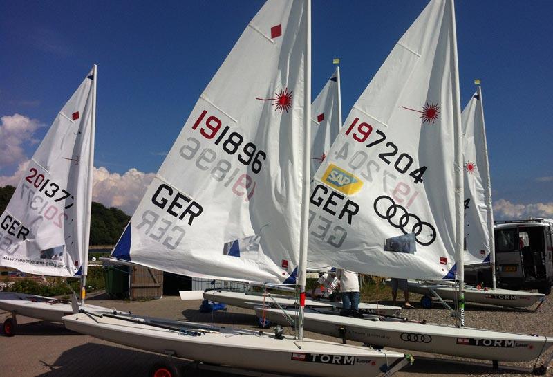 Over 150 unge olympiske håb dyster ugen ud i Aarhus. Foto: Sailing Aarhus