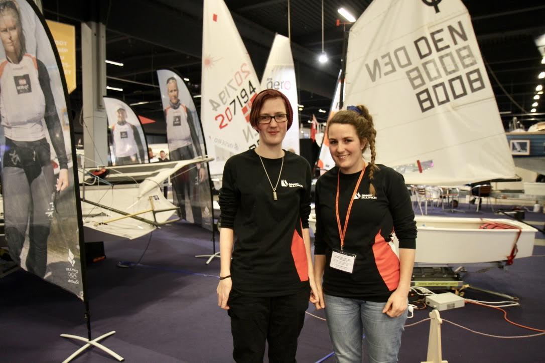 Ungdomsnetværket skal rumme bredde- såvel som elite-sejleren, fortæller Nete og Frida Hangel. Foto: Sara Sulkjær