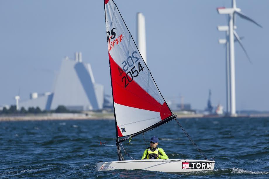 Her ses Tera-sejler i kredsmesterskabet den 10. september i år. Foto: Mogens Hansen