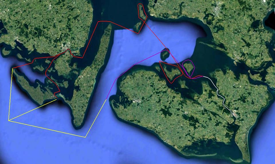 Der bliver én samlet start, hvorefter sejlerne skal ud på enten 150 eller 200 sømil.