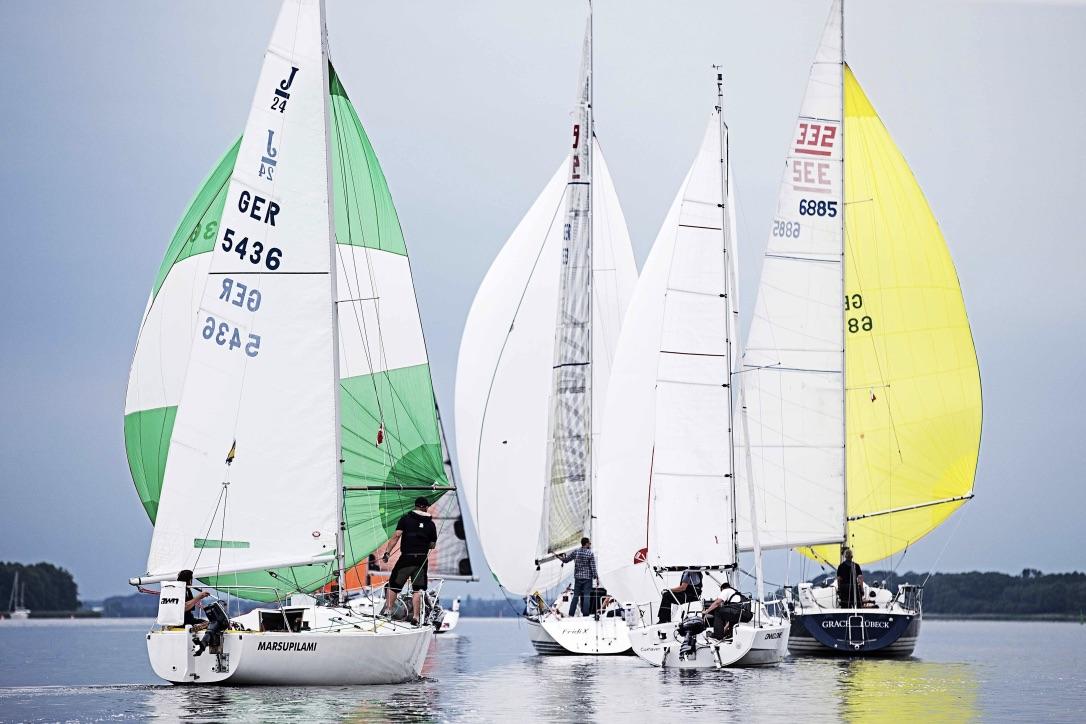 Sidste år sejlede 16 både med i Vegvisir Race. Når racet atter skydes i gang i august bliver det med markant flere både på startlinjen. Foto: Vegvisir Race