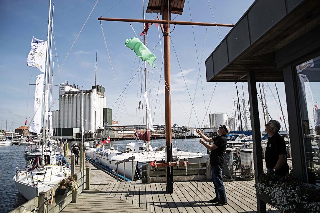 Mange har allerede tilmeldt sig Vegvisir Race. Særligt de tyske sejlere er vilde med sejladsen. Foto: Vegvisir Race