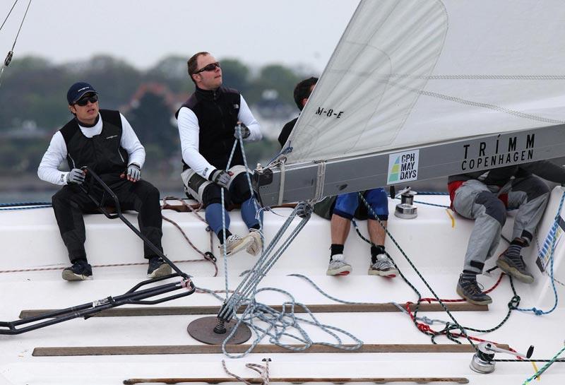 Rasmus Viltoft er sluppet gennem nåleøjet, og skal sejle for Danmark i Middelfart. Foto: Per Heegaard/Match Racing Denmark