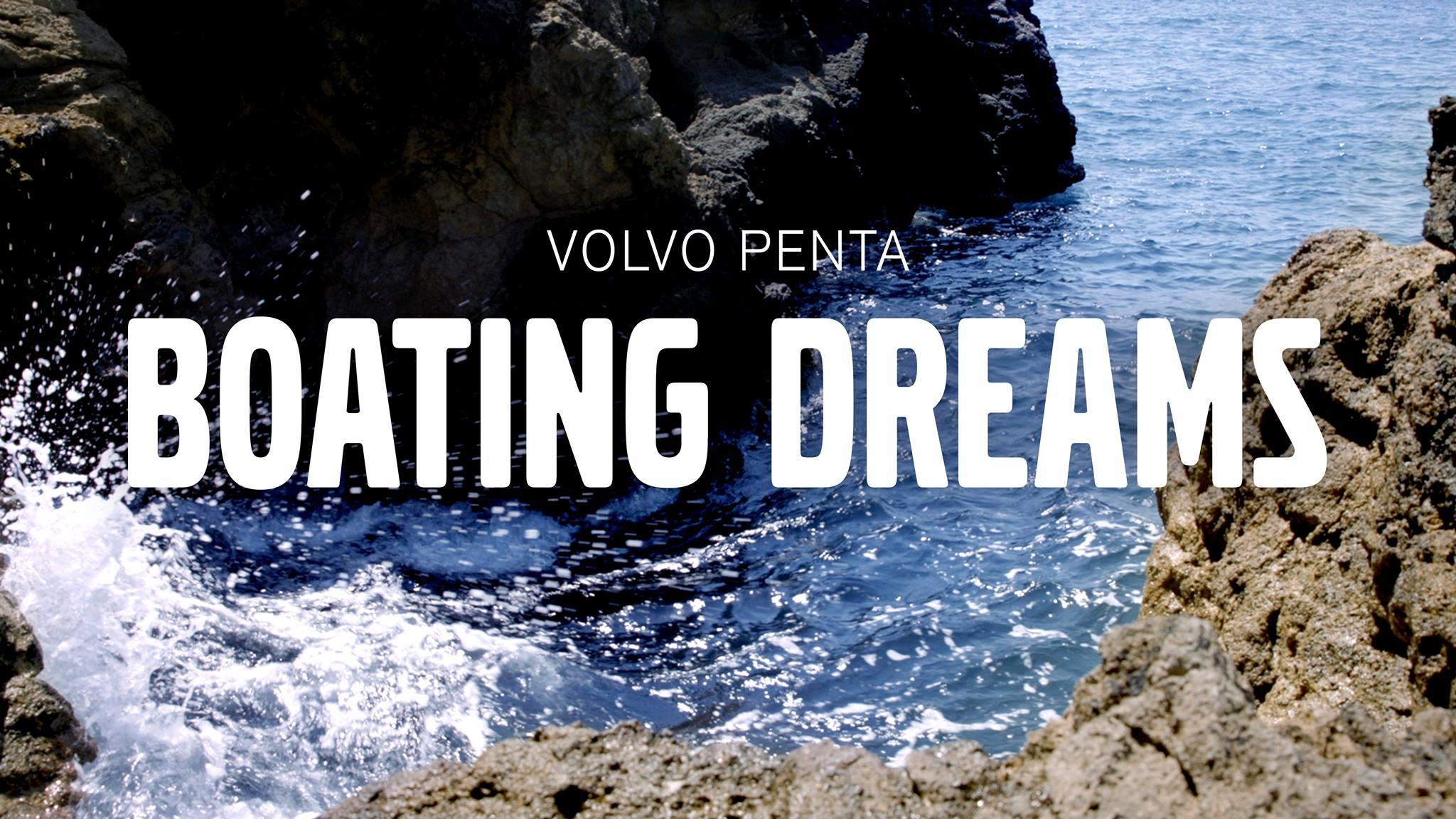 The Boating Dreams serien bliver lanceret online. Foto: Volvo Penta