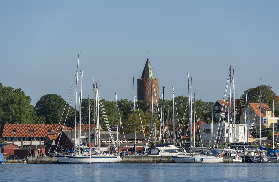 Projektet åbner potentielt op for en 10.000 sovepladser i Vordingborgs Havne, lyder det fra Vordingborg. PR-foto