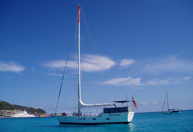 Waverunner i Caribien klar til afgang mod Nordatlanten. Foto: Henrik Elmer