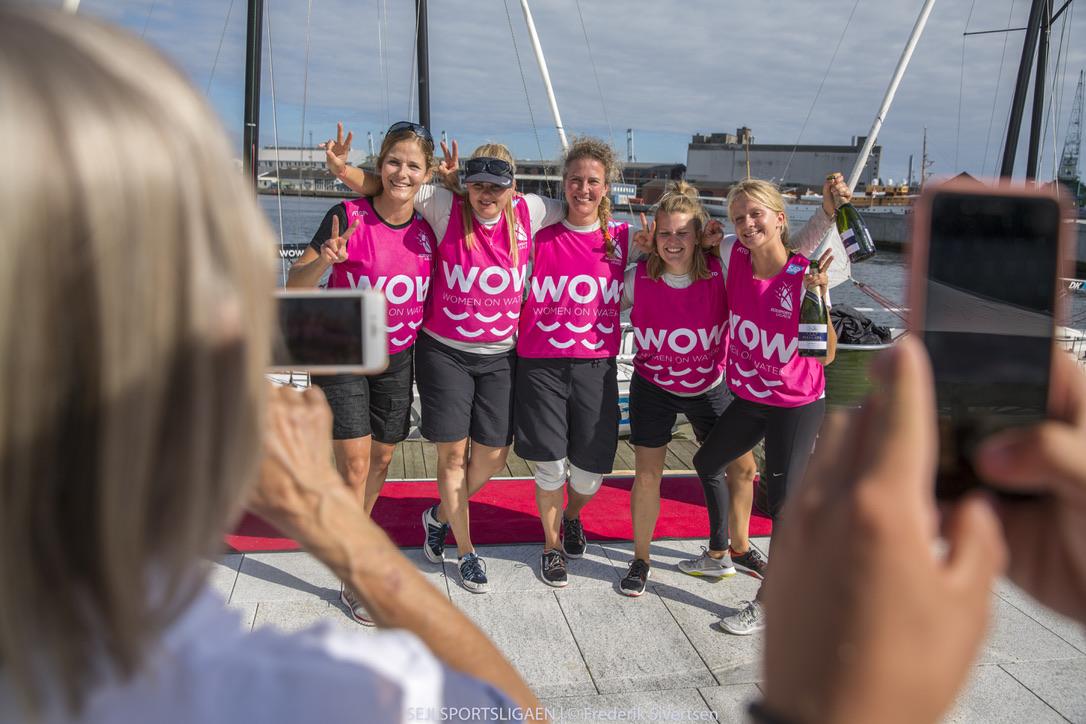 På vandet stiller WOW-netværket blandt andet med et hold i ligaens 2. division. Foto: Frederik Sivertsen