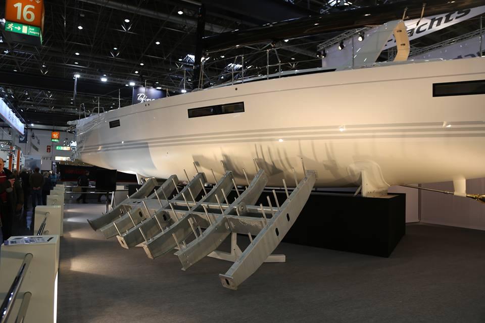 Danske X6 blev udstillet på boot i år, med en bundramme sat foran. Foto: Troels Lykke