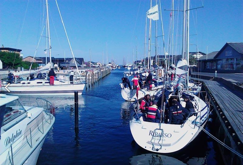 Klubben holder generalforsamling hos Elvstrøm Sails i februar. Foto: X-332.dk
