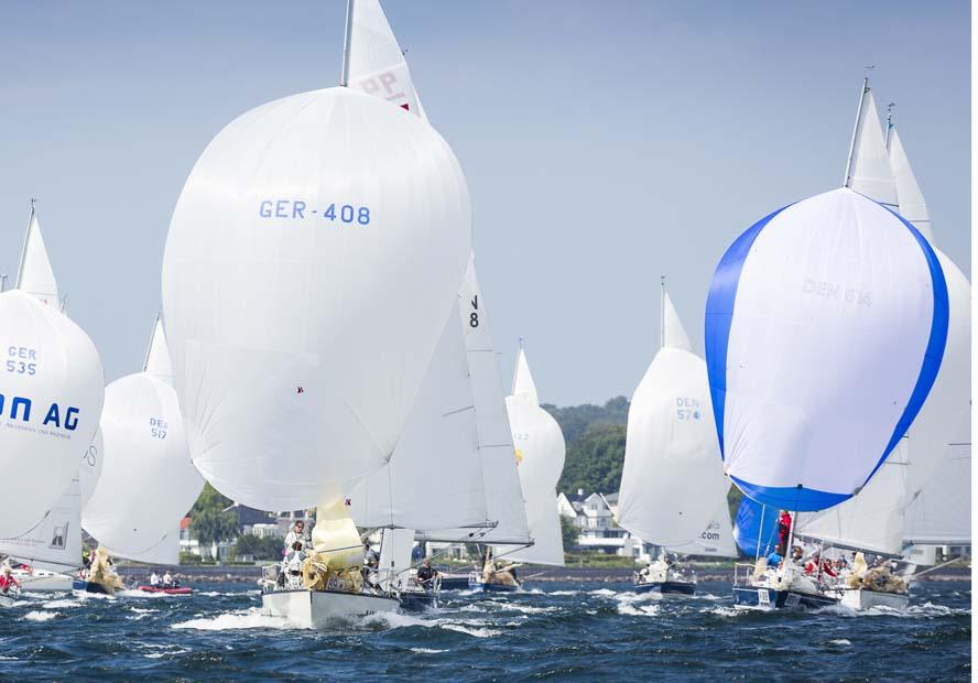 X-99 sejlere under X-Yachts Gold Cup i 2013, hvor Christian Soyka og Peter Bolvig bl.a. var om bord. Foto: Troels Lykke