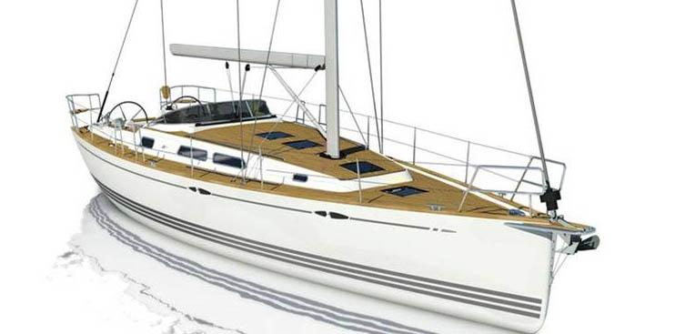 Xc 38 monteres i Haderslev hos X-Yachts, der næsten har 200 ansatte. Bådene støbes i Polen.