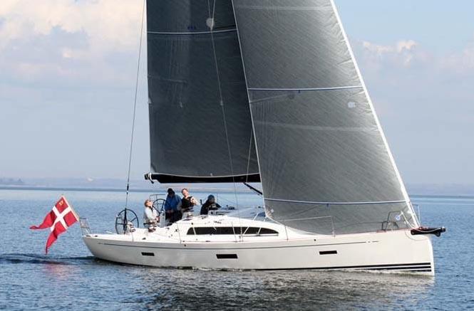 Den nye XP44 sejler sig godt hjem efter IRC og ORC. Arkivfoto: X-Yachts