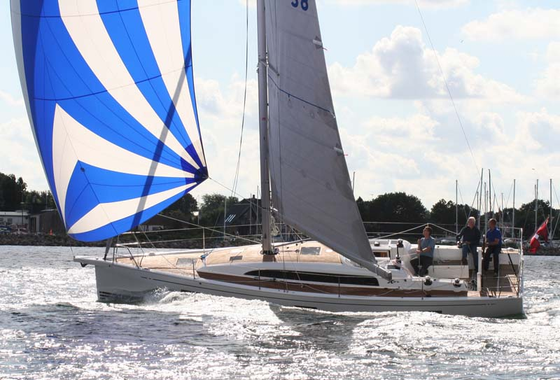 Xp38 sælger godt, trods en pris på 2,3 mio. kroner. Foto: X-Yachts