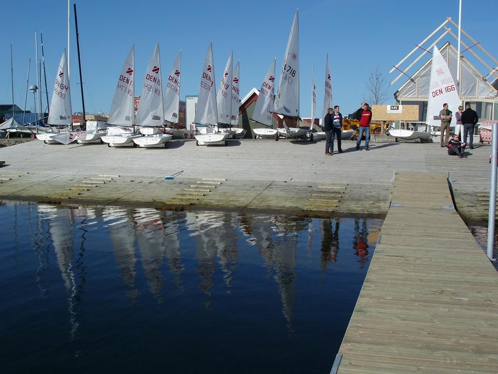 Zoom8 sejlere i Kerteminde. Foto: Jens Thurøe